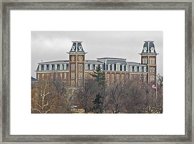 Old Main Framed Print