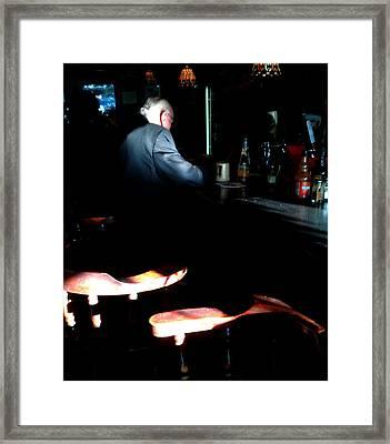 Old Man Framed Print by Chris Fender