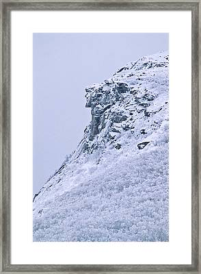 Old Man In Winter Framed Print by Michael Hubley