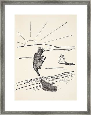 Old Man Kangaroo Framed Print by Rudyard Kipling
