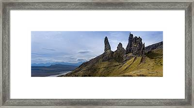 Old Man Of Storr Isle Of Skye Framed Print