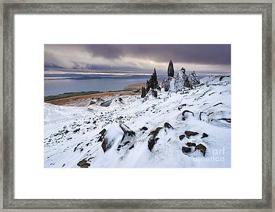 Old Man Of Storr Framed Print