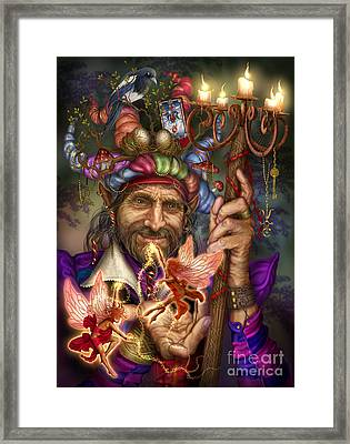 Old Man Of The Woods Framed Print by Ciro Marchetti