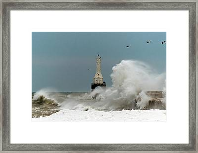 Old Man Winter Framed Print