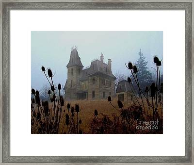 Old Manor Framed Print by Tom Straub