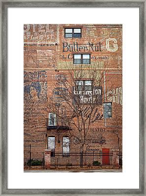 Old Market - Omaha - Metz Building - #1 Framed Print