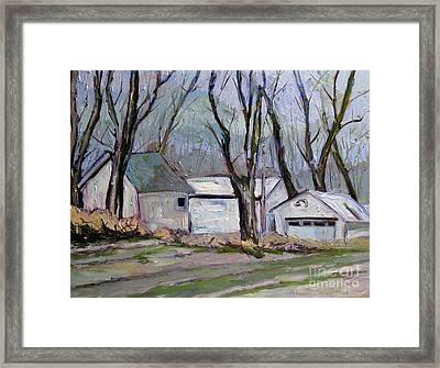 Old Mcdonald's Farm Framed Print by Charlie Spear