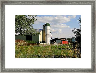 Old Mcdonalds Place Framed Print by Frozen in Time Fine Art Photography