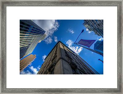 Old Meets Modern Framed Print