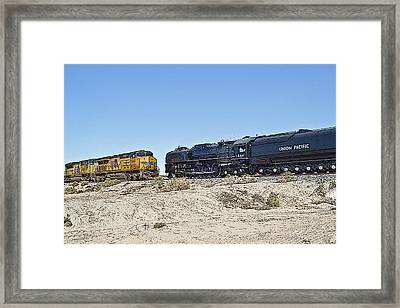 Old Meets New Framed Print by Photographic Art by Russel Ray Photos