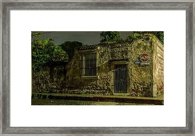 Old Memories Framed Print by Christian Santizo