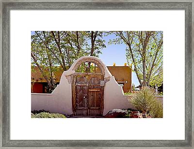Old Mesilla - Las Cruces Nm Framed Print by Christine Till