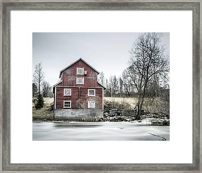 Old Mill 2 Framed Print by Matti Ollikainen