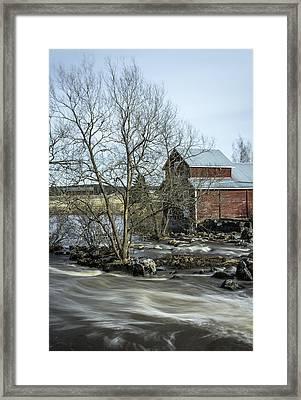 Old Mill 3 Framed Print by Matti Ollikainen
