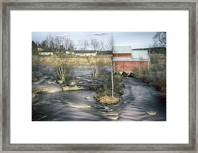 Old Mill 4 Framed Print by Matti Ollikainen