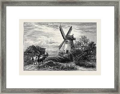 Old Mill At Ty Cross Framed Print