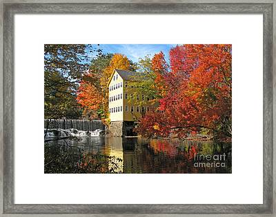Old Mill Bed And Breakfast  0223 Framed Print by Jack Schultz