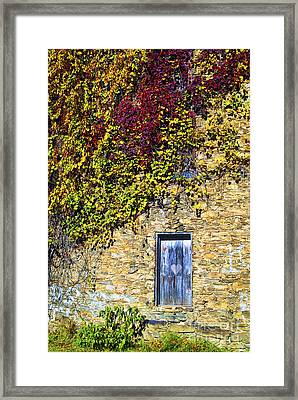 Old Mill Door Framed Print by Paul W Faust -  Impressions of Light
