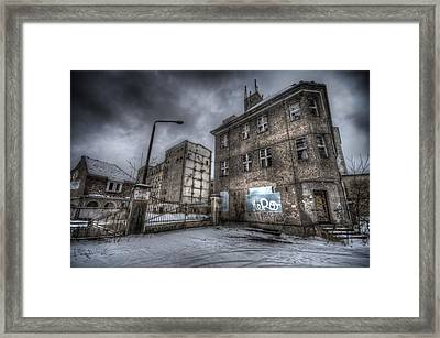 Old Mill Entrance Framed Print