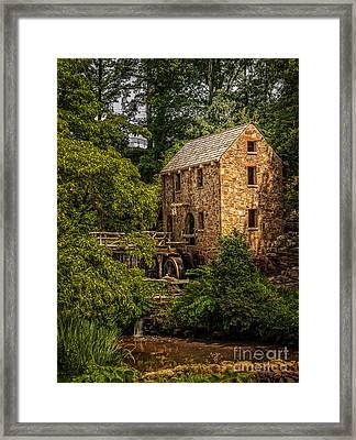 Old Mill 3 Framed Print
