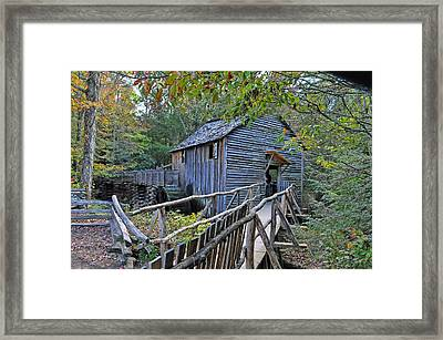 Old Mill Framed Print by Kenny Francis