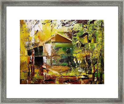 Old Mill Framed Print by Laurend Doumba