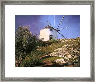 Old Mill Framed Print by Lutz Baar