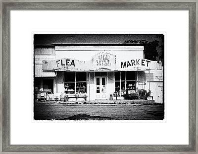 Old Mill Market Framed Print