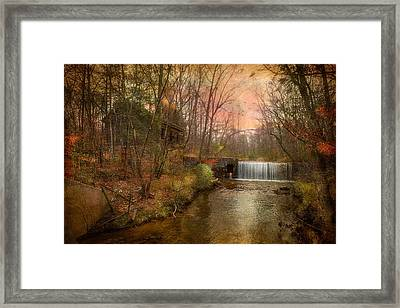 Old Mill Framed Print by Michael Petrizzo