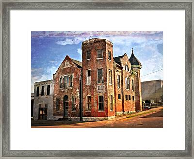 Old Mill Museum Framed Print by Marty Koch