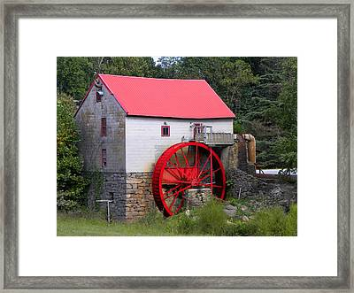 Framed Print featuring the photograph Old Mill Of Guilford by Sandi OReilly