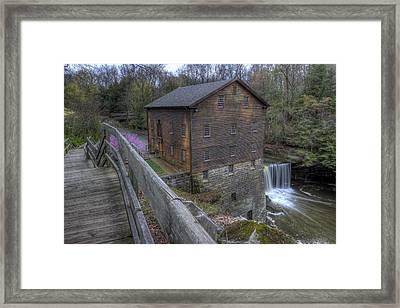 Old Mill Of Idora Park Framed Print