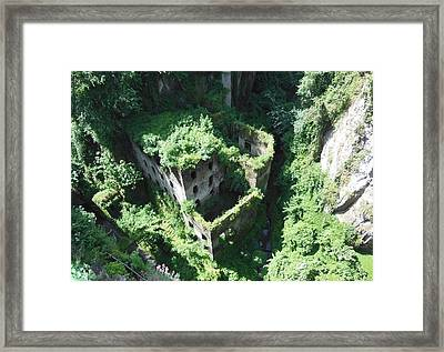 Old Mill Of Sorrento Framed Print by Marilyn Dunlap