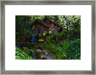 Old Mill On A Sunny Afternoon Framed Print