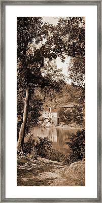Old Mill On The Potomac River, Maryland, Jackson, William Framed Print