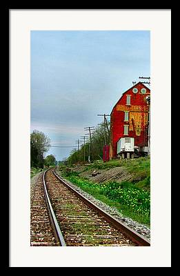 Old Feed Mills Photographs Framed Prints