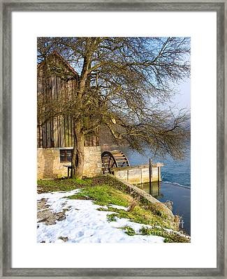 Old Mill Framed Print by Sinisa Botas