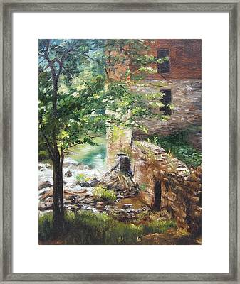 Old Mill Stream I Framed Print