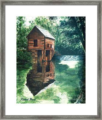 Old Mill Stream Framed Print