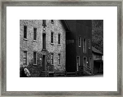 Old Mill Framed Print by Val Arie