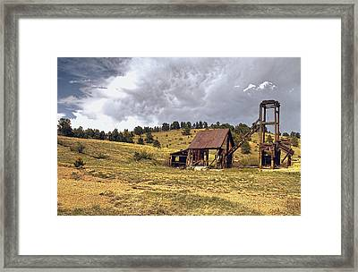 Old Mine In Gilpin County Colorado Framed Print by James Steele