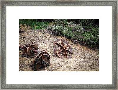 Old Mining Town Framed Print