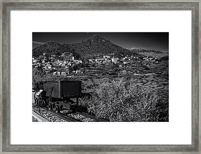 Old Mining Town No.23 Framed Print