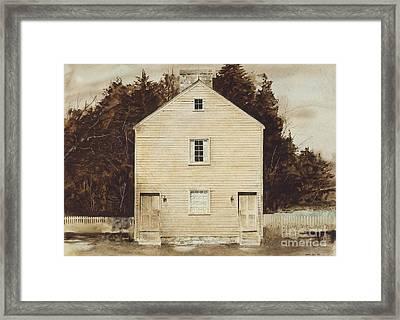 Old Ministry's Shop Framed Print