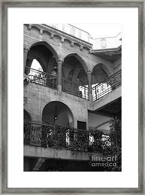 Old Mission Inn Framed Print by Jennifer Apffel