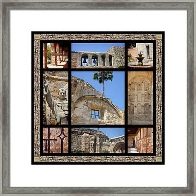 Old Mission San Juan Capistrano Framed Print