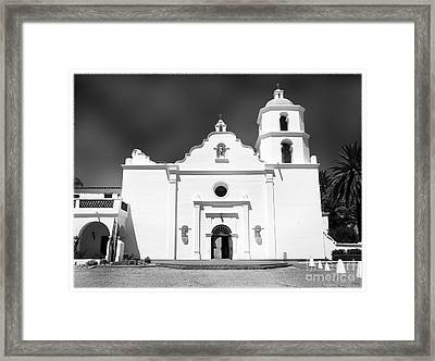 Old Mission San Luis Rey De Francia Framed Print by Glenn McCarthy Art and Photography