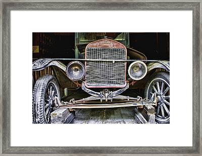 Old Model T Framed Print