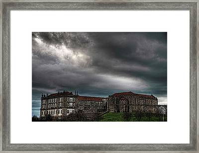 Old Monastery Framed Print