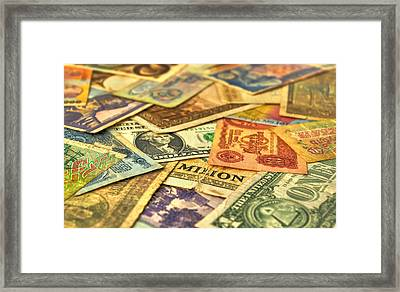 Old Money Framed Print by Ioan Panaite